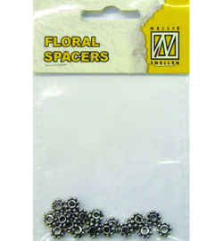 Nellie`s Choice - FLP-SP-005 - Floral Spacers - silver nr. 5