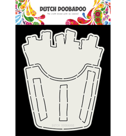 Dutch Doobadoo - 470.713.803 - DDBD Card Art French Fries