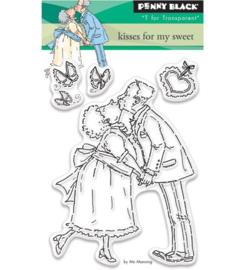 Penny Black Transparent Stamp -   Kisses For My Sweet
