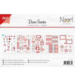 Noor! Design - 6011/0418 - Dear Santa