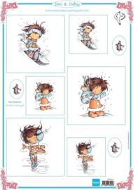 10x diverse soorten knipvellen Don & Daisy