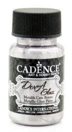 Cadence Dora Glas & Porselein verf Metallic Antieke lila 01 013 3149 0050 50 ml