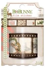 Bo Bunny - Stickers - Christmas Collage Film Sticker