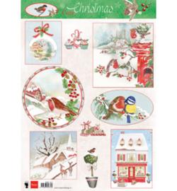 Marianne D Knipvel EWK1271 - Cozy Christmas