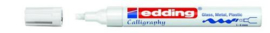 edding-755 kalligrafie glanslak marker wit 1ST 1-4 mm