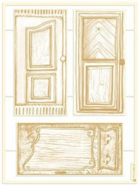 Piatek13 - Chipboard embellishments Garden of Books 05 P13-GAR-47
