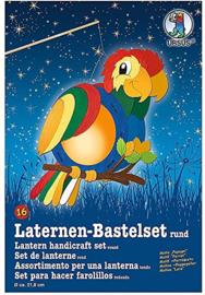 "Laternen-Bastelset ""Parrot"" rond 16"