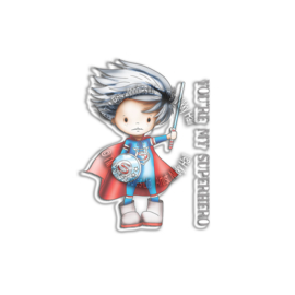 Polkadoodles Little Dudes Superhero Clear Stamps (PD7862)