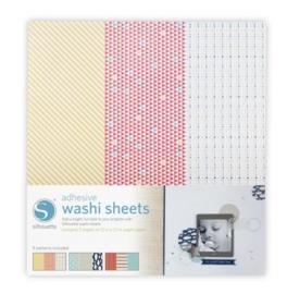 Silhouette Adhesive Washi Sheets
