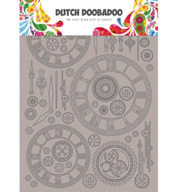 Dutch Doobadoo - 492.006.003 - DDBD Dutch Greyboard clocks