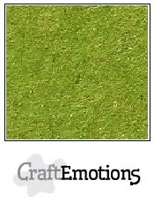 CraftEmotions Karton Kraft - Emerald Groen [1 vel]
