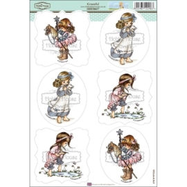 The Hobby House Wee Stamps - Graceful (HHEB017)