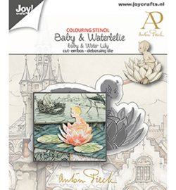 Joy! Crafts - 6002/1611 - Anton Pieck - Baby & Waterlelie