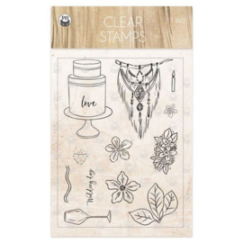 Piatek13 - Clear stamp set Always and forever 01 P13-ALW-30