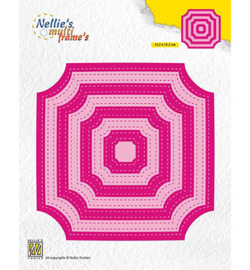 Nellie`s Choice MFD130 - Stiched Cornerless squares
