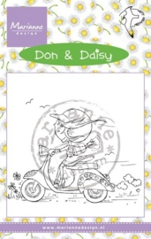 Marianne D Stempel Scooting Daisy DDS3349