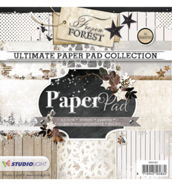 Studio Light PPFF87 - Paper Pad Blok, Frozen Forest nr.87