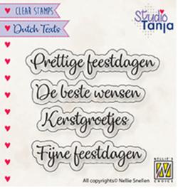 Nellie`s Choice - DTCS025 - Dutch texts, Prettige Feestdagen etc..