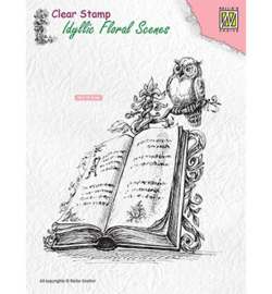 Nellie's Choice -  IFS013 - Book with owl