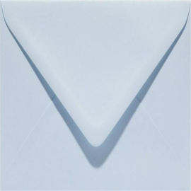 Papicolor Envelop vierk. 14cm babyblauw 105gr-CV 6 st 303956 - 140x140 mm
