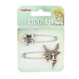ScrapBerry's Metal Charms Set Fairy Tale 1 (SCB25002024)