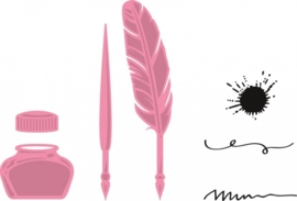 Marianne Design- Collectables set Quill pen and ink: Col1375