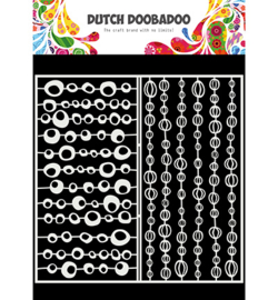 Dutch Doobadoo - 470.715.821 - Mask Art Slimline Groovy Circles
