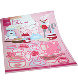 Marianne D Collectable COL1493 - Eline's Kitchen accessories