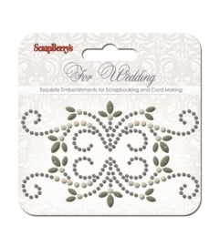 ScrapBerry's Curls For Wedding 2 Pearl Swirl (SCB250001079)