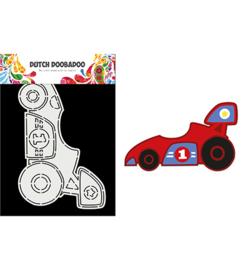 Dutch Doobadoo - 470.784.013 - Card Art Race Car