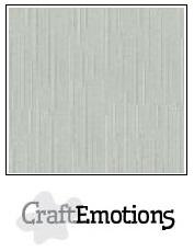 CraftEmotions linnenkarton - titanium LHC-40 A4 250gr