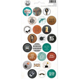 Piatek13 - Sticker sheet Free Spirit 03 P13-FRE-13 10,5x23cm