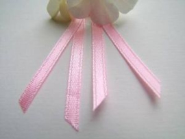 Double Face Satin Ribbon - Pastel Pink  3,5 mm
