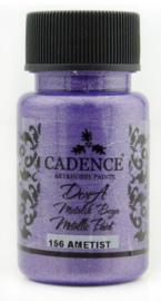 Cadence Dora metallic verf Amethist 01 011 0156 0050 50 ml
