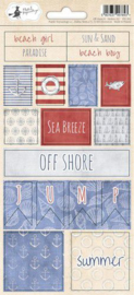 Piatek13 - Sticker sheet Off Shore II 02 P13-302 10,5x23 cm