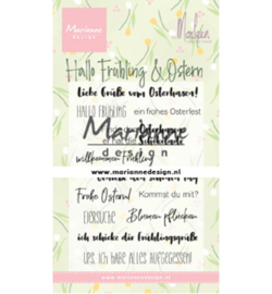 Marianne D Stempel - CS1045 - Marleen's Hallo Fruhling & Oster