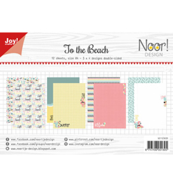 Noor! Design - 6011/0658 - Papierset - Design To the beach