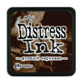 Tim Holtz distress mini ink ground expresso