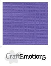 CraftEmotions linnenkarton - hortensia paars LHC-68 A4 250gr
