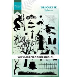 Marianne D Stempel CS1039 - Silhouette Halloween