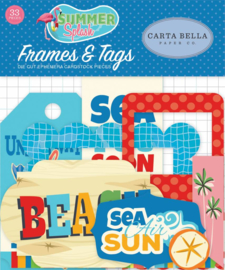 Carta Bella Summer Splash Frames & Tags