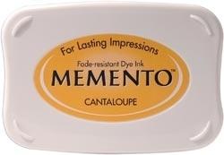 Memento inktkussen Cantaloupe