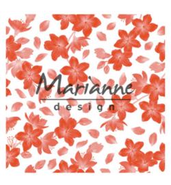 Marianne D Embossing 3D Design Folder DF3446 - Blossom