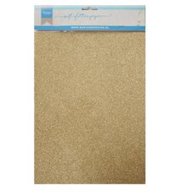 Marianne D Paper CA3143 - Soft Glitter paper - Gold
