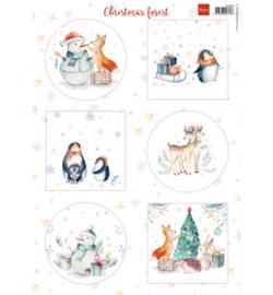 Marianne D Knipvel VK9580 - Christmas Forest