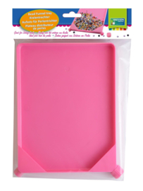 Vaessen Creative beadtray 16x21cm pink