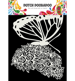 Dutch Doobadoo - 470.715.170 - Dutch Mask Art, Butterfly