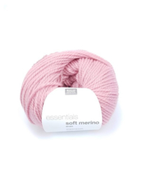 Rico Design - Essentials Soft Merino Aran 002 Rose