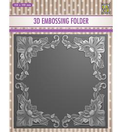 Nellie`s Choice - EF3D028 - Exotic flower frame