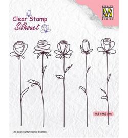 Nellie's Choice -  SIL042 - 5-flowers